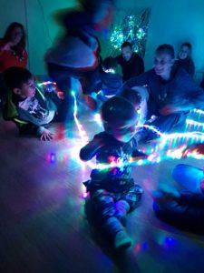 Laboratorio Latte & Coccole per bimbi 1 -4 anni Giochiamo con la luce